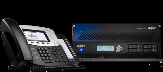 Switchvox phone and IP PBX on premise box