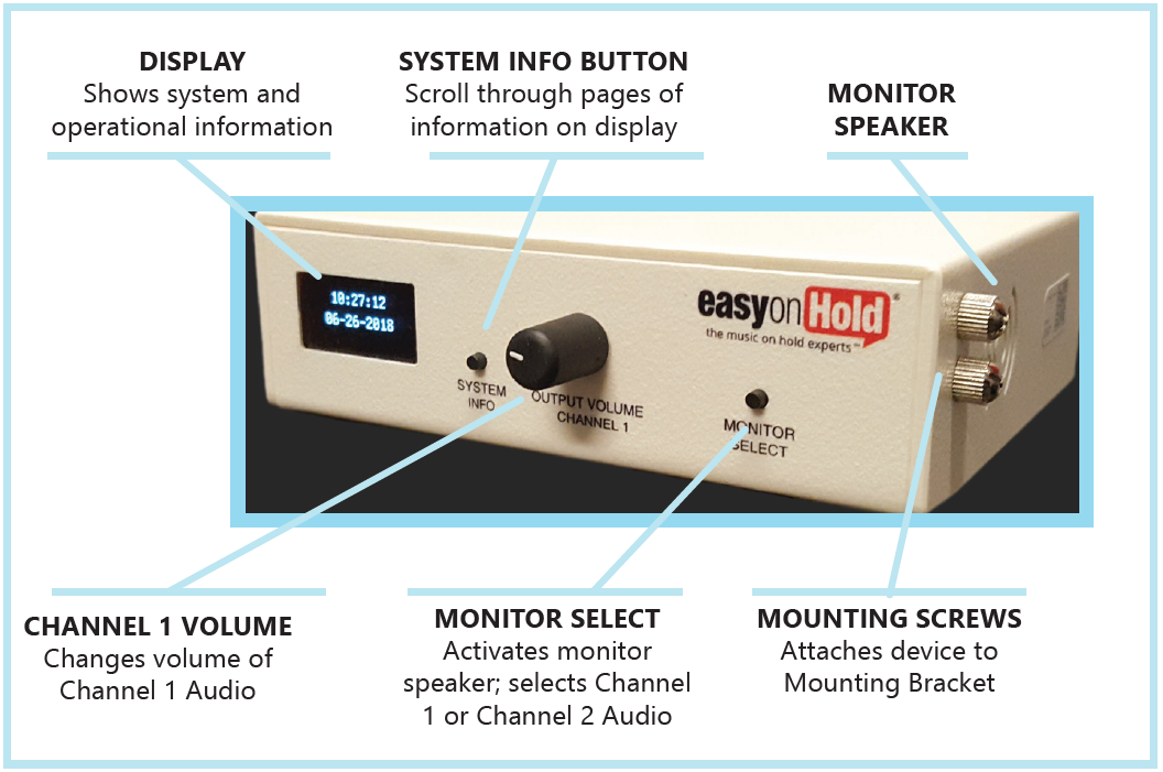 business music audio system moh player device