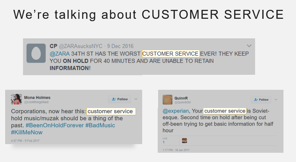 Customer Service Tweets