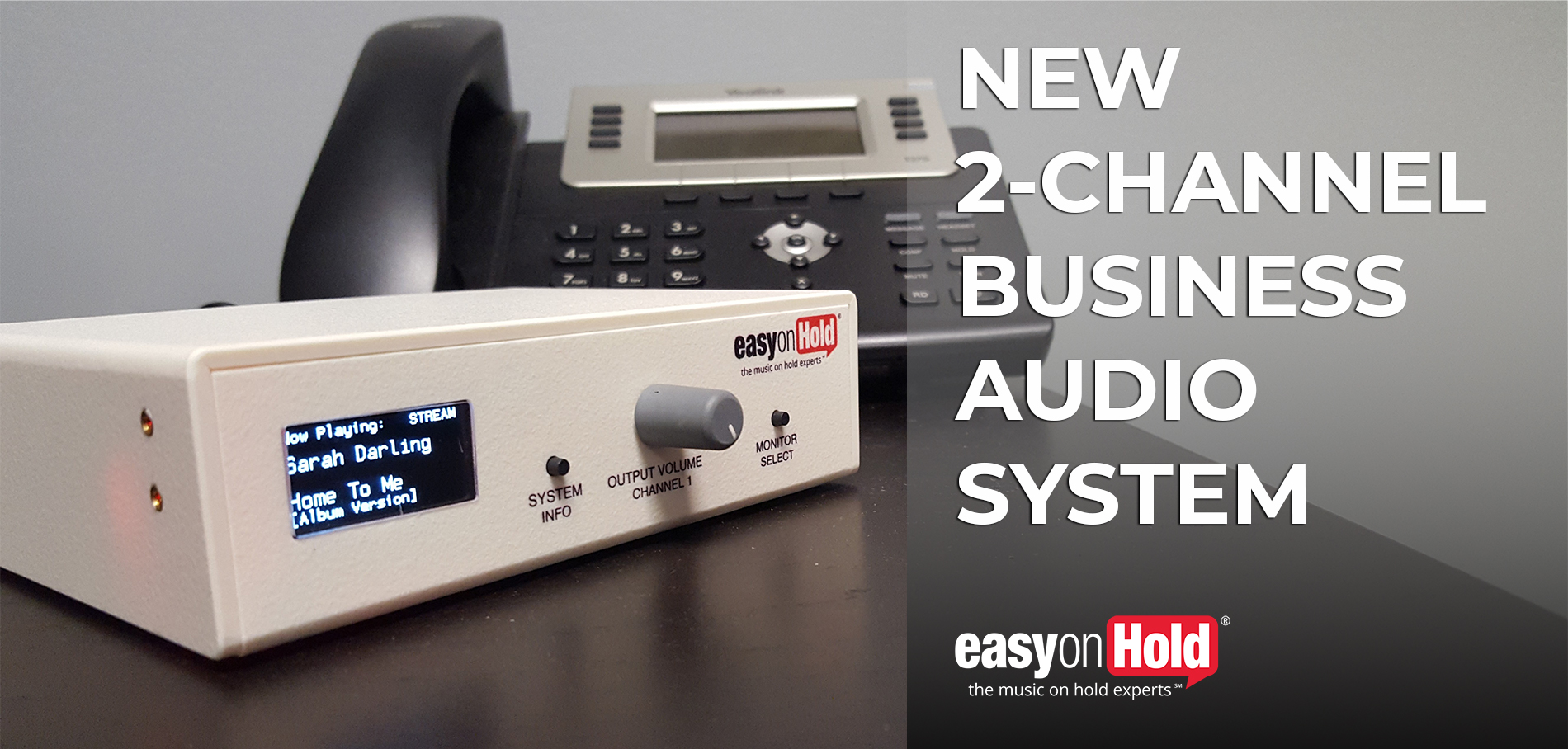 New 2-Channel Music On Hold And Business Music Device