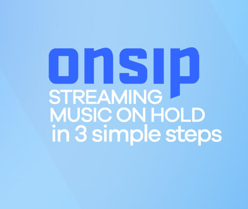 streaming music on hold in onsip in 3 simple steps title