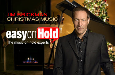 Jim Brickman Piano Christmas Music offered by Easy On Hold