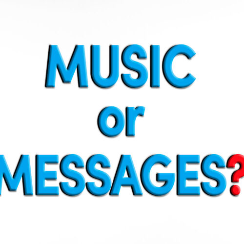 hold music or messages on hold