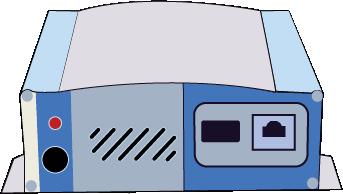 illustration of Pro Stream audio player