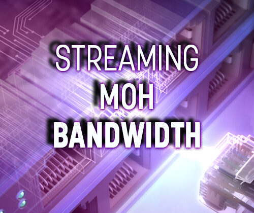 straming moh bandwidth discussed title